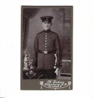 CDV Foto Soldat - Altenburg 1900er
