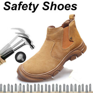 Womens Safety Shoes Trainers Work Shoes Steel Toe Cap Running Hiking Boots UK4-8