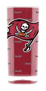 Tampa Bay Buccaneers 16oz Square Insulated Acrylic Tumbler [NEW] Cup Mug Pint