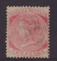 Jamaica two pence QV issue annotated sg 2
