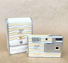 Minolta Courreges AC 101 Film Camera (Disc Film) W/ Case