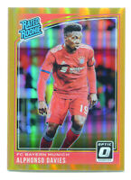 ALPHONSO DAVIES 2018-19 Donruss Optic Orange Prizm Rated Rookie RC SP 65/99 READ