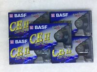 Lot (6) Cassettes BASF CE II 90 Chrome Extra Neuves NEW SEALED