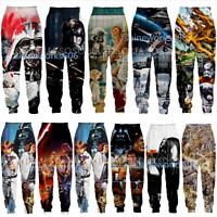 Movie Star Wars 3D Print Casual trousers Mens Womens Sweatpants Jogging Pants