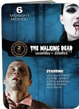 Walking Dead Collection: Vampires vs. Zombies: 6 Films (DVD, 2012, 2-Dis * NEW *