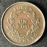 Canada 1837 Half Penny Token Un Sou LC-32B / Breton 692 / J-054
