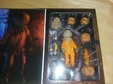 "NECA Trick R Treat Sam Ultimate 7"" Scale Action Figure Collection New In Stock."
