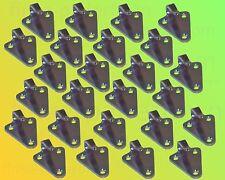 25 x Dreiloch Planenhaken verzinkt - Dreilochhaken Netz Haken Anhänger