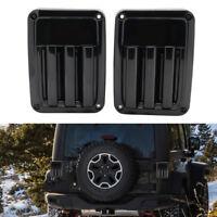 EURO 2× LED Rear Tail Light Brake Reverse Turn Signal Lamp for Jeep Wrangler JK