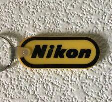 Vintage Keychain NIKON Key Ring Fob Cameras & Accessories