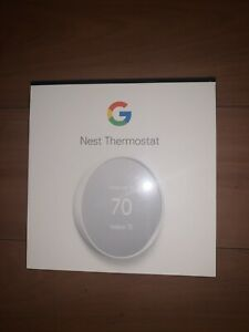 Google G4CVZ Nest Programmable Smart Wi-Fi Thermostat for Home SNOW color