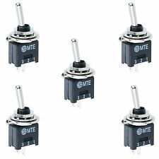 5 x Sub Miniature On-Off Toggle Switch SPST