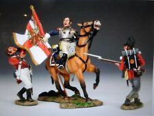 """king &country 54mm Napoleonic French """"seizing the colors"""" NA216 2013 MIB oop"""