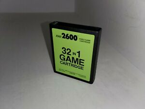 NEW NEVER USED 32 IN 1 PAL GAME  CARTRIDGE FOR ATARI 2600 NOT FOR USA  P9