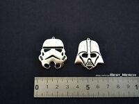 Darth Vader/Stormtrooper Necklace stainless steel Star Wars Pendant merch logo