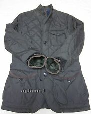 NWT POLO RALPH LAUREN quilted  barn JACKET Coat  suede deco XL