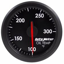 FITS FORD DODGE CHEVY ETC AUTO METER BLACK AIRDRIVE SERIES OIL TEMP GAUGE.