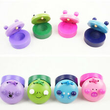 Funny Wooden Castanets Musical Instrument Baby Children Educational Cute Toys