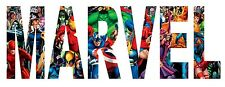Marvel Iron On Transfer For T-Shirt & Other Light Color Fabrics #2