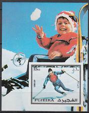 Fujeira 1972 ** Bl.136 B Olympische Winterspiele Winter Olympic Games Innsbruck