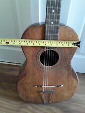 Vintage Antique Francesco Peretti Gypsy Small Body Parlour Acoustic Guitar