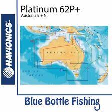 Navionics - Platinum Plus Chart 62P+XL3 - Australia E + N with Fish Data Layer