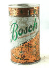 Bosch Premium Beer Can Steel Top Opened 1970's Vintage Pre-owned Free Shipping