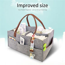 Baby Organizer Bag Portable Diaper Nappy Bottle Changing Divider Storage