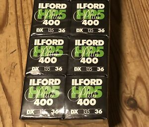6 X Rolls..Ilford HP5 35mm 36 Exp 400 - New (sealed Out Date Stock)
