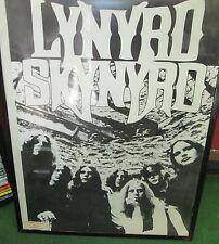LYNYRD SKYNYRD LIVE  POSTER MID 2000'S VINTAGE NEW RARE FREEBIRD SAT NIGHT SUPER