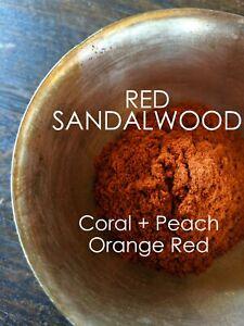RED SANDALWOOD - Natural Dye - Powder Form - 40 grams - Free Shipping USA