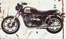 Yamaha XS1100 1982 Envejecido Vintage sign A3 Grande Retro