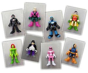 Imaginext Used Figures- Super Hero, Villains. Multi Listing- *Please select*