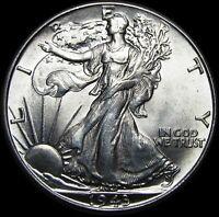 1943 Walking Liberty Half Dollar Silver ----  GEM BU++  ---- #H533