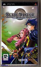 PSP Blade Dancer (2007), Official UK UMD Version, Brand New Sony Factory Sealed