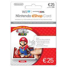 25€ Nintendo eShop Card Switch Wii U DSi 3DS - Nintendo €25 EURO Guthaben Code