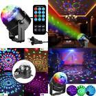 DJ luz Activado por Sonido Profesional Luces Fiesta LED Bola Disco Club Bailar
