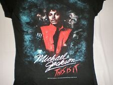 Michael Jackson T SHIRT This Is It  2009 MEDIUM