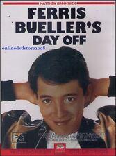 FERRIS BUELLER'S DAY OFF (Matthew BRODERICK Mia SARA) Comedy Film DVD Region 4