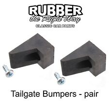1964 - 1979 Ford Truck & Bronco Tailgate Bumpers - pair