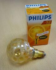 PHILIPS lampadina E14 25W P45 oro DECORAZIONE 330079 a goccia Korokoeis
