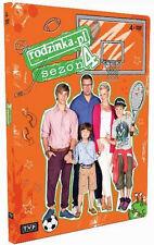 Rodzinka.pl - Sezon 4 (DVD) 2013 serial TV Kozuchowska, Karolak POLISH POLSKI