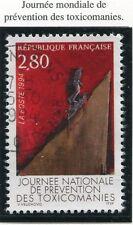 TIMBRE FRANCE OBLITERE N° 2908 TOXICOMANIE / Photo non contractuelle