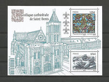 FRANCE 2015...Miniature Sheet n° F4930 MNH..Basilique Cathédrale de Saint-Denis
