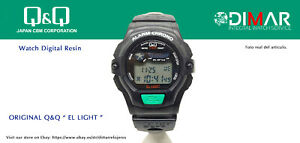 Vintage Watch Q&Q The Light. 9907, Wr 5m. Lap Memory 10. (M102 001)