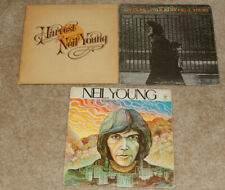 Neil Young Lp x 3 - S/T, After The Gold Rush, Harvest (1970,72, Usa, Germany)