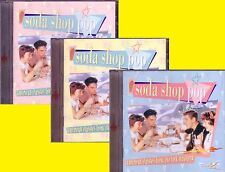 Soda Shop Pop 3CD Classic Rock Roll RAY SMITH DEE CLARK JACK SCOTT DANNY JUNIORS