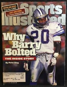 Sports Illustrated Magazine August 9, 1999 Barry Sanders Detroit Lions Cover