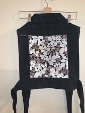 Baby Hawk Meh Dai Carrier Multi Color and Black Reversible Pattern