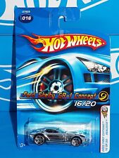 HW 2005 First Editions Realistix 16 / 20 Ford Shelby GR-1 Concept Black Int PR5s